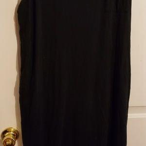 Forever 21 black tank maxi dress, 2X